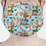 Reindeer Face Mask Cover (Personalized)