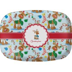 Reindeer Melamine Platter (Personalized)