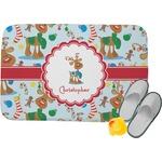 Reindeer Memory Foam Bath Mat (Personalized)