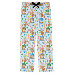 Reindeer Mens Pajama Pants (Personalized)