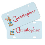 Reindeer Mini/Bicycle License Plates (Personalized)