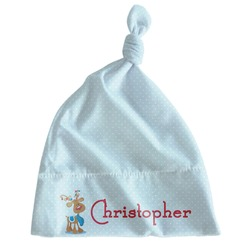 Reindeer Newborn Hat - Knotted (Personalized)