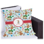 Reindeer Outdoor Pillow (Personalized)