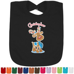 Reindeer Bib - Select Color (Personalized)