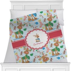 Reindeer Blanket (Personalized)