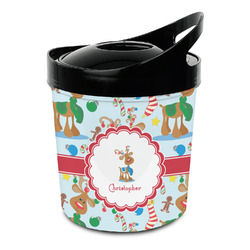Reindeer Plastic Ice Bucket (Personalized)