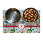 Reindeer Dog Food Mat (Personalized)
