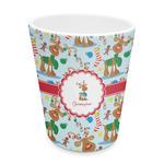 Reindeer Plastic Tumbler 6oz (Personalized)