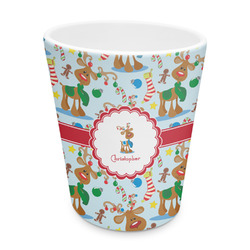 Reindeer Plastic Tumbler 6oz (Personalized)