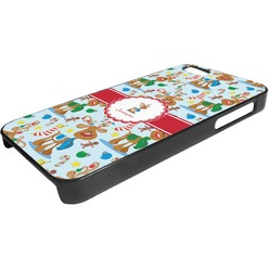 Reindeer Plastic iPhone 5/5S Phone Case (Personalized)