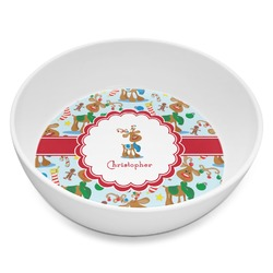 Reindeer Melamine Bowl 8oz (Personalized)