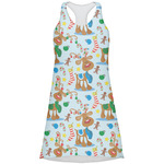 Reindeer Racerback Dress (Personalized)