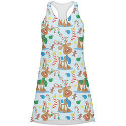 Reindeer Racerback Dress (Personalized)