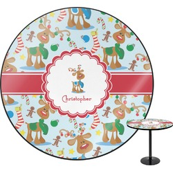 Reindeer Round Table (Personalized)