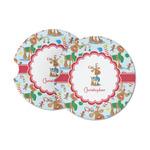 Reindeer Sandstone Car Coasters (Personalized)
