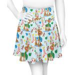 Reindeer Skater Skirt (Personalized)