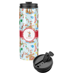 Reindeer Stainless Steel Tumbler (Personalized)