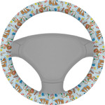 Reindeer Steering Wheel Cover (Personalized)