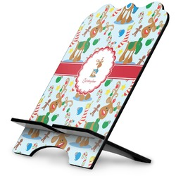 Reindeer Stylized Tablet Stand (Personalized)