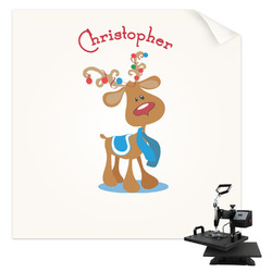 Reindeer Sublimation Transfer (Personalized)