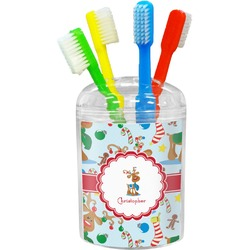 Reindeer Toothbrush Holder (Personalized)