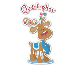 Reindeer Graphic Decal - Custom Sizes (Personalized)