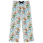 Reindeer Womens Pajama Pants (Personalized)
