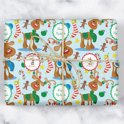 Reindeer Wrapping Paper (Personalized)