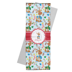 Reindeer Yoga Mat Towel (Personalized)