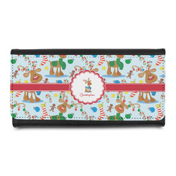Reindeer Leatherette Ladies Wallet (Personalized)