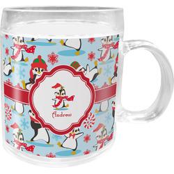 Christmas Penguins Acrylic Kids Mug (Personalized)