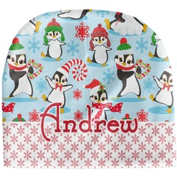 Christmas Penguins Baby Hat (Beanie) (Personalized)
