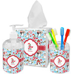 Christmas Penguins Bathroom Accessories Set (Personalized)