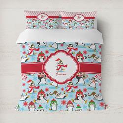 Christmas Penguins Duvet Covers (Personalized)