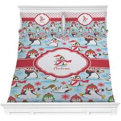 Christmas Penguins Comforter Set (Personalized)
