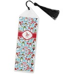 Christmas Penguins Book Mark w/Tassel (Personalized)