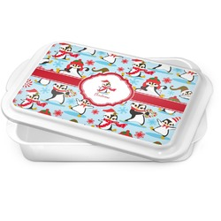 Christmas Penguins Cake Pan (Personalized)