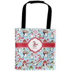 Christmas Penguins Auto Back Seat Organizer Bag (Personalized)