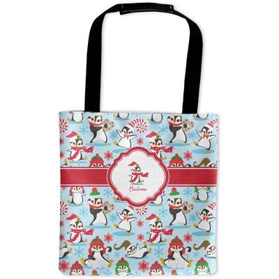 Christmas Penguins Auto Back Seat Organizer Bag (Personalized)