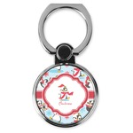 Christmas Penguins Cell Phone Ring Stand & Holder (Personalized)