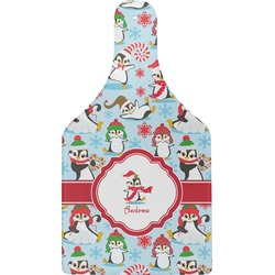 Christmas Penguins Cheese Board (Personalized)