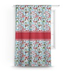 Christmas Penguins Curtain (Personalized)