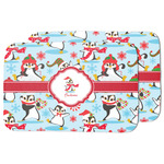 Christmas Penguins Dish Drying Mat (Personalized)