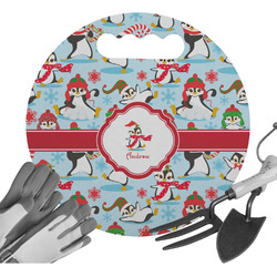 Christmas Penguins Gardening Knee Cushion (Personalized)