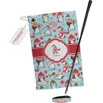 Christmas Penguins Golf Towel Gift Set (Personalized)