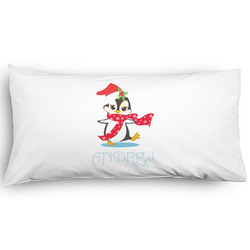 Christmas Penguins Pillow Case - King - Graphic (Personalized)