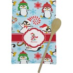 Christmas Penguins Kitchen Towel - Full Print (Personalized)