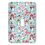 Christmas Penguins Light Switch Covers (Personalized)
