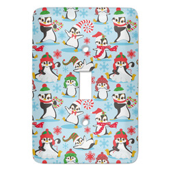 Christmas Penguins Light Switch Covers - Multiple Toggle Options Available (Personalized)