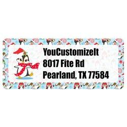Christmas Penguins Return Address Labels (Personalized)